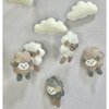 Stone and grey sheep mobile by Wishfull Thinking