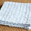 Snuggly and soft hand crocheted textured Mini blanket - Photo Prop by Croshka Designs