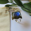 Labradorite in Sterling Silver Ring by MD Jewellery Design