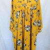 Mustard and Floral Kaftan  by ZugZwang Jewellery
