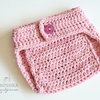 Handmade crochet Diaper Cover  by Croshka Designs