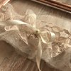 Molly keepsake wedding bridal garter with lace detail by Laced by Katryn