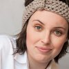 Naturally neutral knotted headband or earwarmer by needle nerds