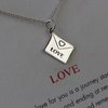 Love Letter Necklace by blinkidees