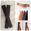 Leather Drawer Handles - Tan by Savior Brand Co