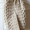 Handmade crochet chunky wool cowl by Croshka Designs