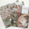 MINI Disposable placemats: KING PROTEAS (pink) (12 in pack) by TableArt