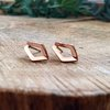Single Ray Earrings by Edel Designer Jewellery