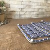 Hot Pot Mats -  Blue and White flowers by Kurula