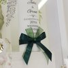 Hunter green wedding candle by Timeless Memories
