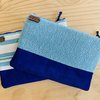 WEALLSHAREROOTS x BARRYDALE HAND WEAVERS : PURSES - Royal blue and Teal by We All Share Roots