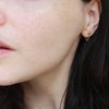 PAIR - Chain Wrap Around Earrings, Gold Filled by Minkykitten