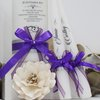 Shades of purple candle set     by Timeless Memories