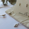 Fyn Moonstone Earrings by MD Handmade Jewellery