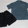 Shirt and short set for boys age 4 - 5 by JaxStar Handmade Clothing and Home