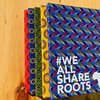 Shweshwe Notebook - Green by We All Share Roots