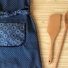 Kids Aprons / Kids Cooking Apron / Apron For Girls / Kids Clothes / Apron For Children / Indigo Blue Apron / African Fabric Print / Kitchen by Shwe-Shwe Designs