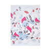 """Jellybean Jungle"" A5 hardcover notebook in duck-egg blue, papaya, fuchsia and charcoal by i Spy"