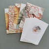 Small envelopes & cards ~ sea theme by CoralBloom Studio