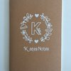 Personalised Notebook Gift  by Love & Sparkles