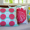 """Giant King"" cushion cover in raspberry by i Spy"