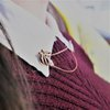Mistletoe Collar pins Small  by Edel Designer Jewellery