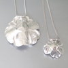 Sterling Silver, Organic, Reticulated Flowers by Artistic925Jewellery