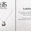 Pretty Silver Lady Bug Pendant by Pretty Silver Collection by Havilah Designer Jewellers
