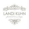 blank card /HUG/ white by LANDI KUHN Functional Art & Design