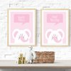 PINK ELEPHANT WALL ART PRINTABLE by hcmorrison printables