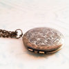 Antique Bronze Photo Locket (LB02) by Heart Jewelry Creations