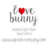 LOVE BUNNY grey - the original by Big Heart Company