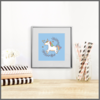 Magical Unicorn Set of 3 Prints/Posters/Wall Art by The Art of Creativity Studio