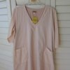 Mary Tunic White & Pink Cotton by Philomena