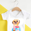 Milo Baby Grow by Mermaids & Monsters