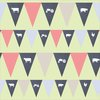 Instant download DIY Flags, Denim and 3 colours gingham by hcmorrison printables