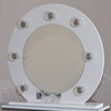 Modern - Hollywood Glam Vanity Mirror White by Be Beautiful By Katy M