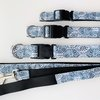 M Medium Moroccan Blue Dog Collar by Willow Pet Accessories