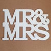 MR & MRS MESSAGE BOARD (M0125) by Miss Magpie