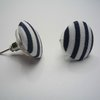 Blue Nautical Earrings by Bow Peep