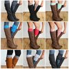 Lace boot cuffs by Oikie Toikie