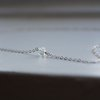 Dainty Opalite Choker Necklace - Sterling Silver  by Minkykitten