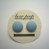 light blue and white polka dots by Bow Peep