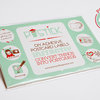 Postick - Pack of 10 adhesive postcard-back labels by Tatjana Buisson Design/ Illustration