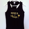 Partners in wine hen party tank top by Polkadot Box