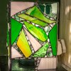 Patchwork Electric Stained Glass Box by Glass Cuttings