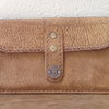 Hand stitched bovine leather purse (To order only) by Shackletons