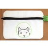 Peeping Kitty embroidered purse/pouch by Thats so ME!