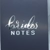 Brides Notes Notepad by Love & Sparkles