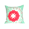 """Giant Pin"" cushion cover in raspberry and aqua by i Spy"